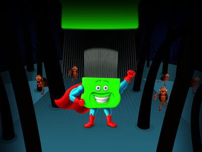 Captain Licecomb Super Pose Centred